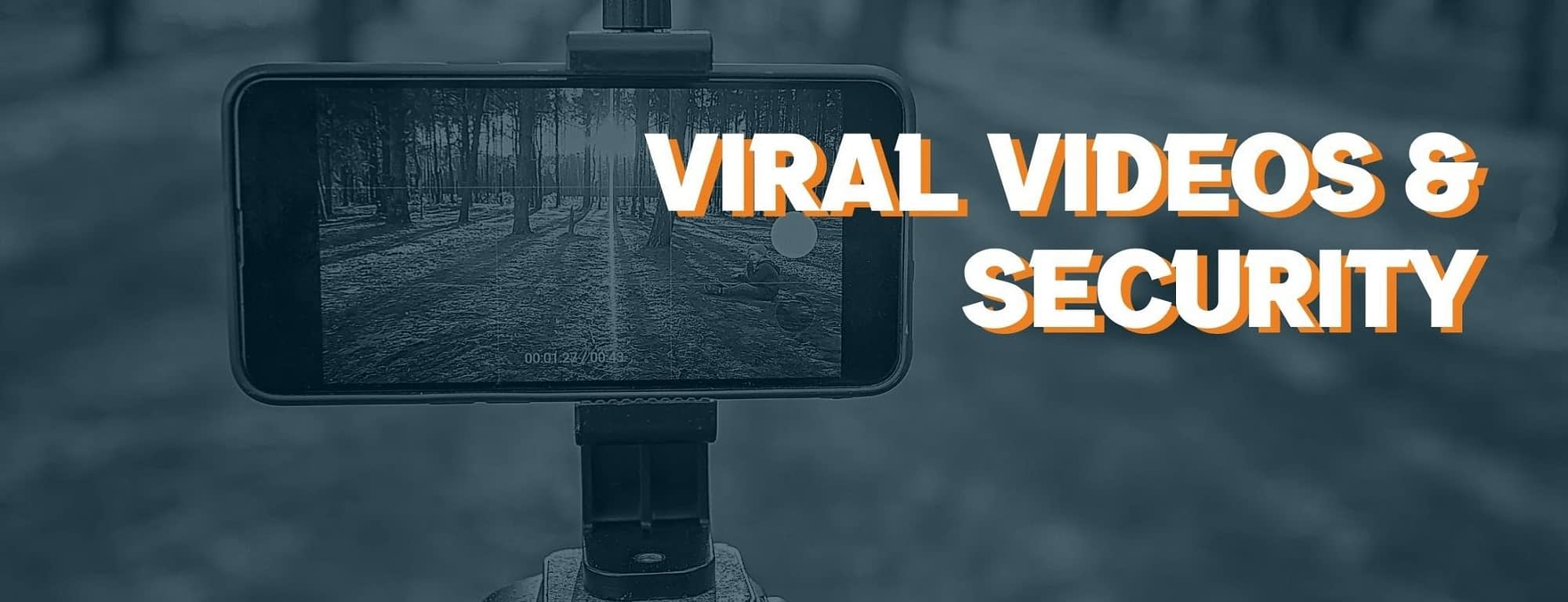 """This is the header image used in the BPS Security blog titled, """"How Viral Videos Can Destroy the Security Industry""""."""
